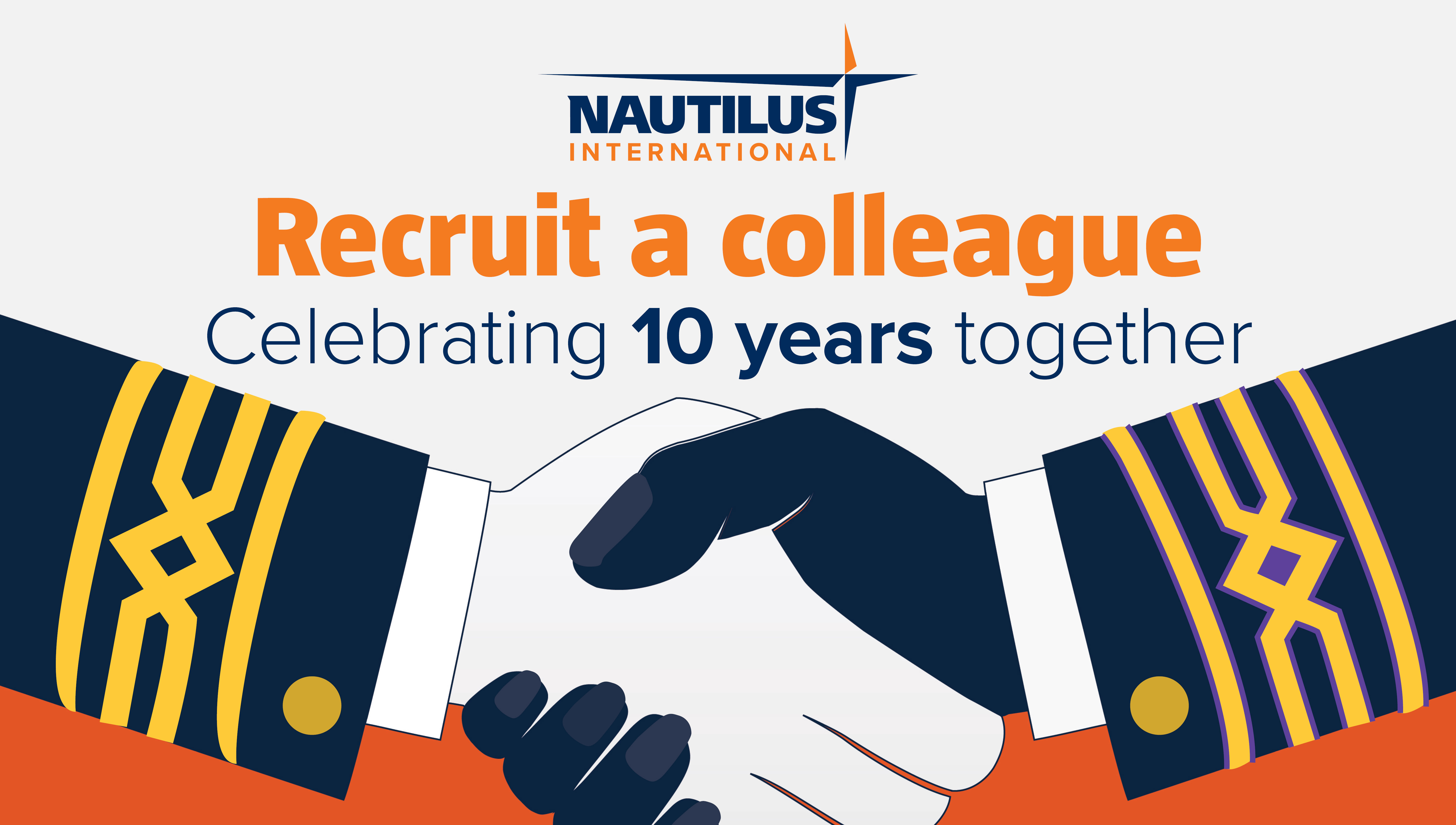 Recruit and win anniversary offer to members