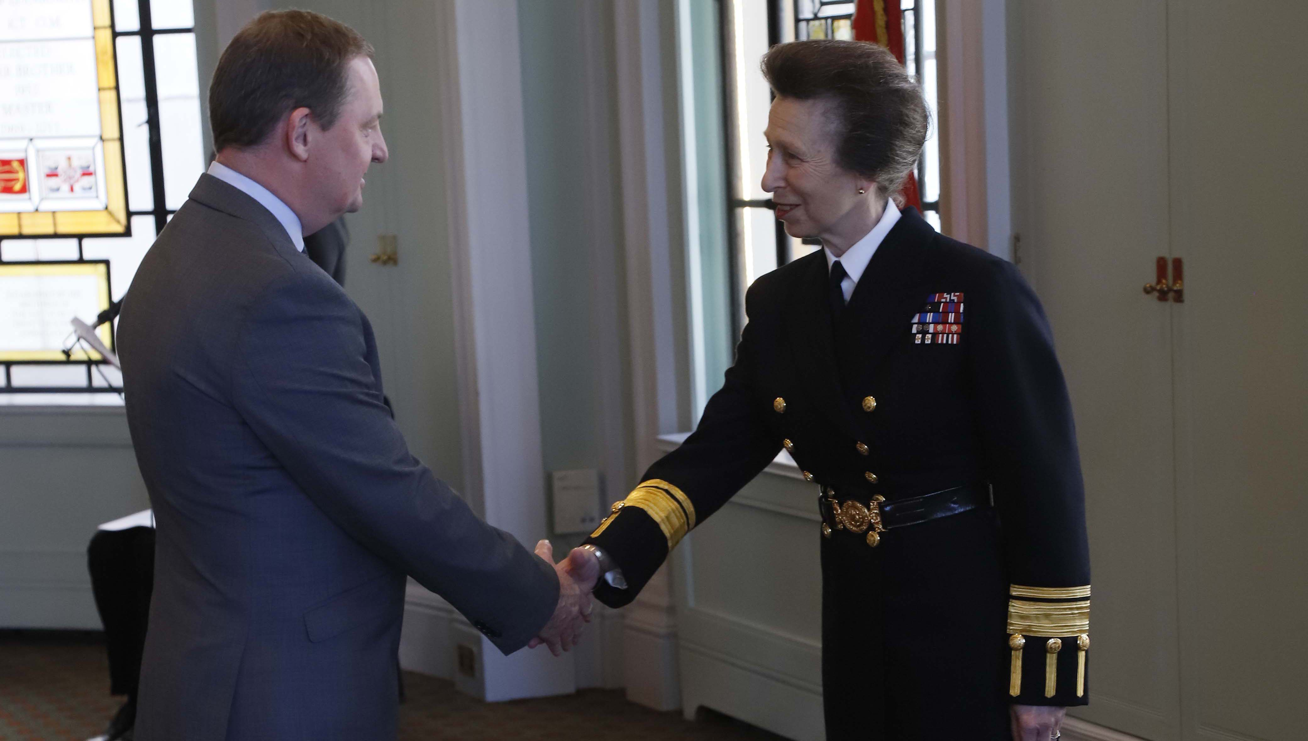 Nautilus general secretary awarded Merchant Navy Medal