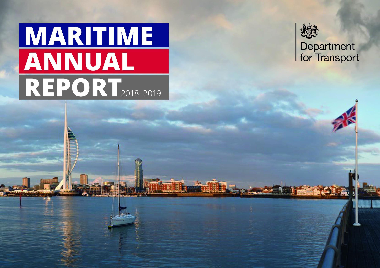 UK government publishes maritime progress report